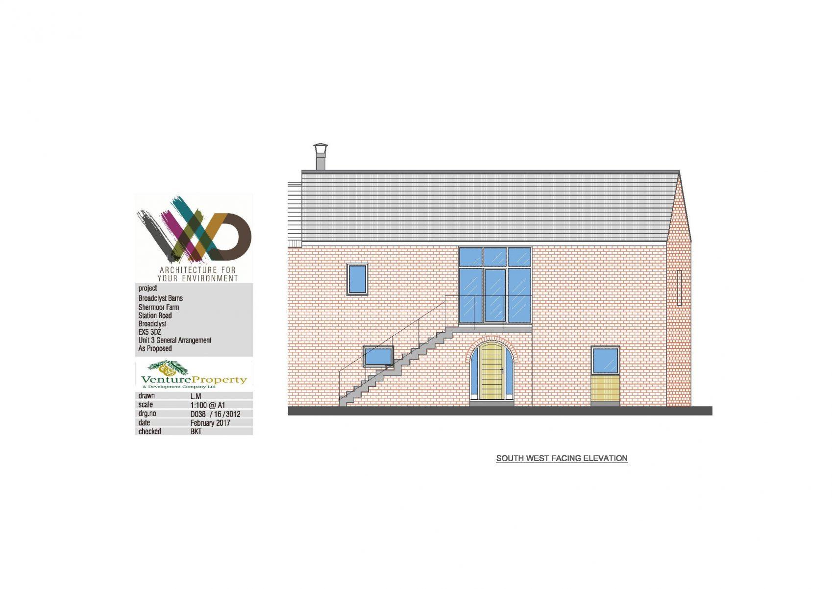 Venture Property - plot 3 (Barley Barn) Shermoor Farm